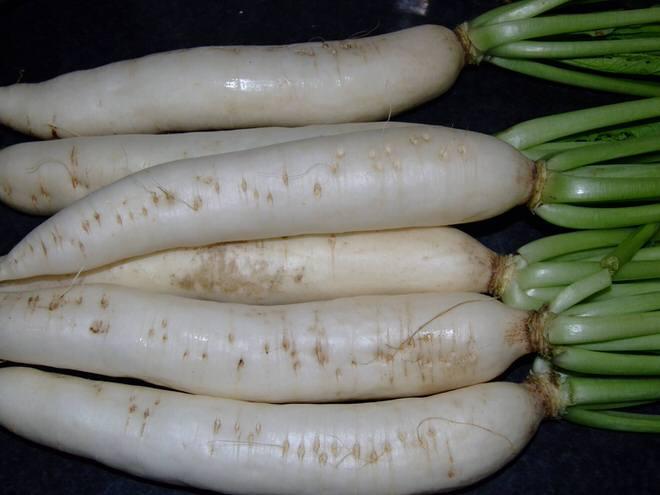 1.หัวผักกาดขาว 2.5 กก.