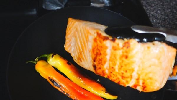 น้ำพริกปลาแซลมอน